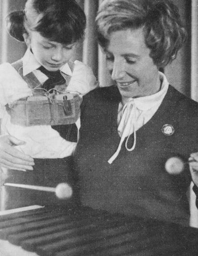 Ann with deaf child